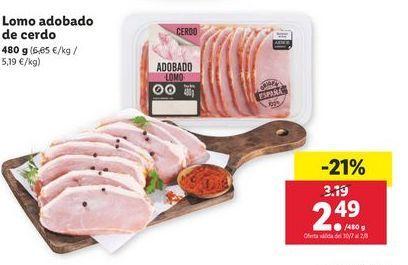 Oferta de Lomo adobado por 2,49€