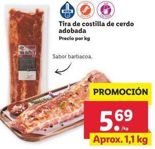 Oferta de Costillas de cerdo por 5,69€