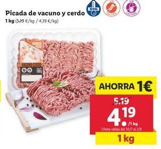Oferta de Carne picada por 4,19€