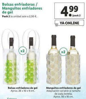 Oferta de Bolsas de congelación por 4,99€
