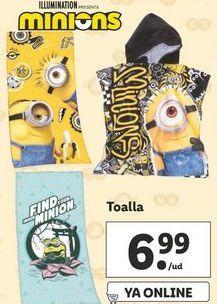 Oferta de Toallas por 6,99€