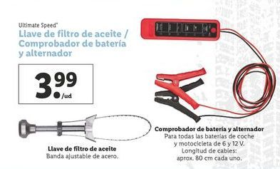 Oferta de Filtro de aceite ultimate speed por 3,99€