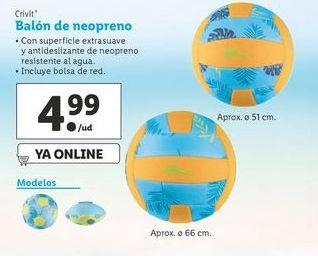Oferta de Balón Crivit por 4,99€