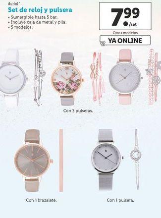Oferta de Relojes Auriol por 7,99€