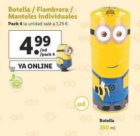 Oferta de Fiambrera Minions por 4,99€
