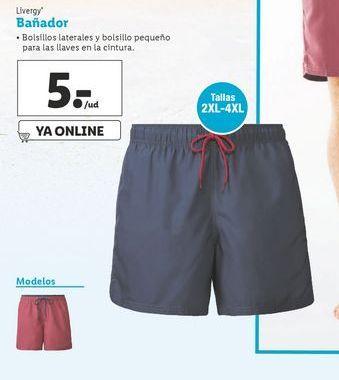 Oferta de Bañador hombre Livergy por 5€