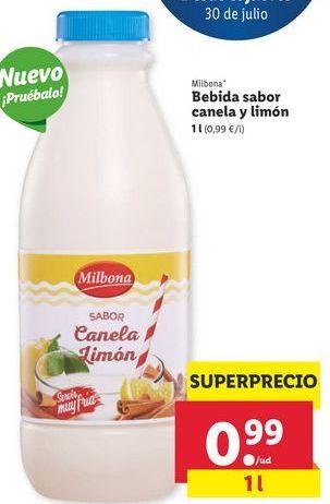 Oferta de Bebidas Milbona por 0,99€