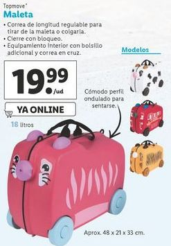 Oferta de Maletas Top Move por 19,99€
