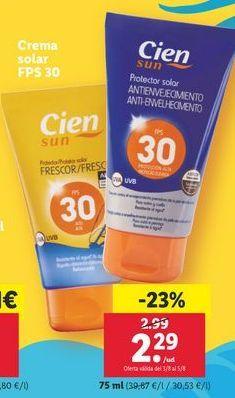Oferta de Crema solar por 2,29€