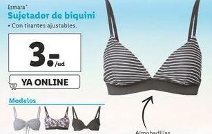 Oferta de Bikinis esmara por 3€