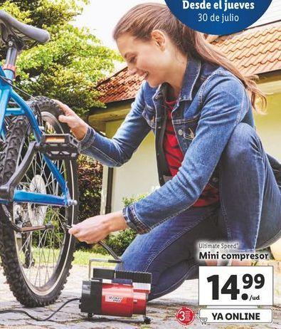 Oferta de Compresor de aire ultimate speed por 14,99€
