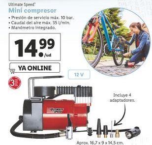 Oferta de Compresor de aire por 14,99€