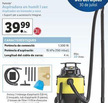 Oferta de Aspirador por 39,99€