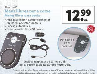 Oferta de Manos libres SilverCrest por 12,99€