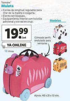 Oferta de Maletas Top Move por 19,99€