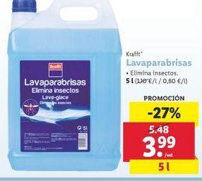 Oferta de Lavaparabrisas krafft por 3,99€