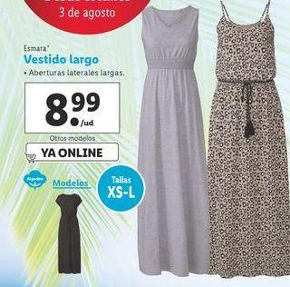 Oferta de Vestido largo esmara por 8,99€