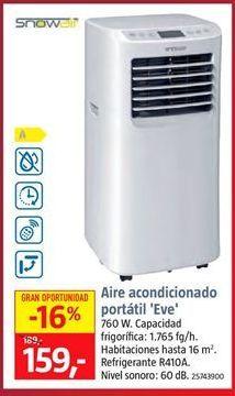 Oferta de Aire acondicionado port谩til por 159鈧�