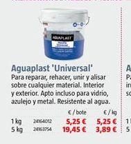 Oferta de Aguaplast por 5,25€