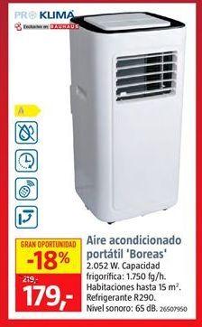 Oferta de Aire acondicionado port谩til por 179鈧�