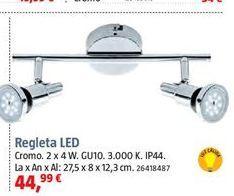 Oferta de Regleta led por 44,99€