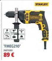 Oferta de Taladro percutor Stanley por 89€