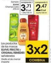 Oferta de Champú Elvive por 3,71€
