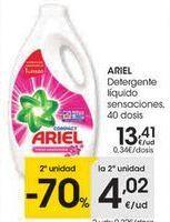 Oferta de Detergente líquido Ariel por 13,41€