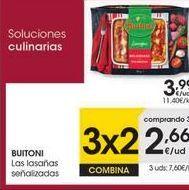 Oferta de Lasaña Buitoni por 3,99€