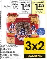 Oferta de Lentejas pardina Luengo por 1,58€