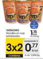 Oferta de Yakisoba Yatekomo por 1,15€