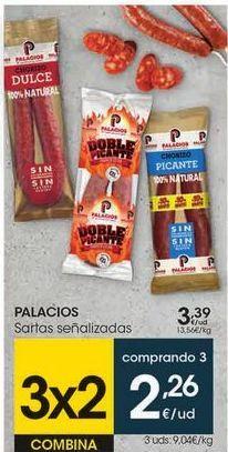 Oferta de Loncheados Palacios por 3,39€