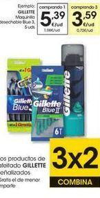 Oferta de Maquinilla desechable Gillette por 5,39€