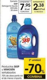 Oferta de Detergente líquido Skip por 7,95€