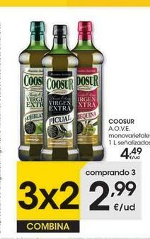 Oferta de Aceite de oliva Coosur por 4,49€