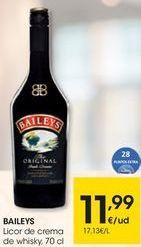 Oferta de Licor Baileys por 11,99€