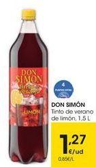Oferta de Tinto de verano Don Simón por 1,27€