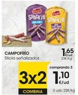 Oferta de Snacks Campofrío por 1,65€