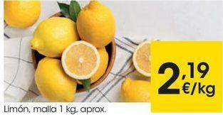 Oferta de Limones por 2,19€