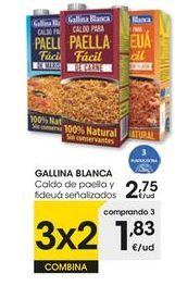 Oferta de Caldo de paella Gallina Blanca por 2,75€