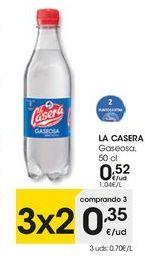 Oferta de Gaseosa La Casera por 0,52€