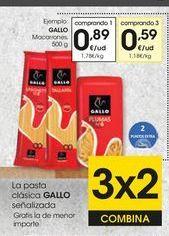 Oferta de Pasta Gallo por 0,89€