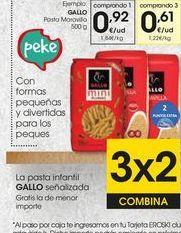 Oferta de Pasta Gallo por 0,92€