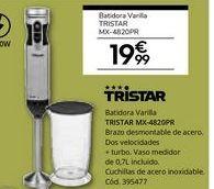Oferta de Batidora de varillas Tristar por 19,99€