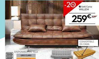 Oferta de Sofá cama por 259€