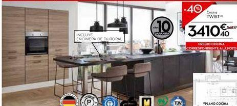 Oferta de Cocinas por 3410,4€