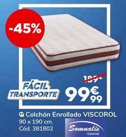 Oferta de Colchón enrollado somnalis por 99,99€