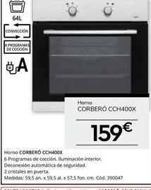 Oferta de Hornos Corberó por 159€