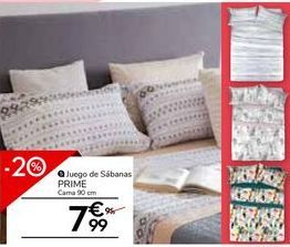 Oferta de Sábanas por 7,99€