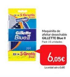 Oferta de Maquinilla de afeitar  desechable Gillette por 6,05€